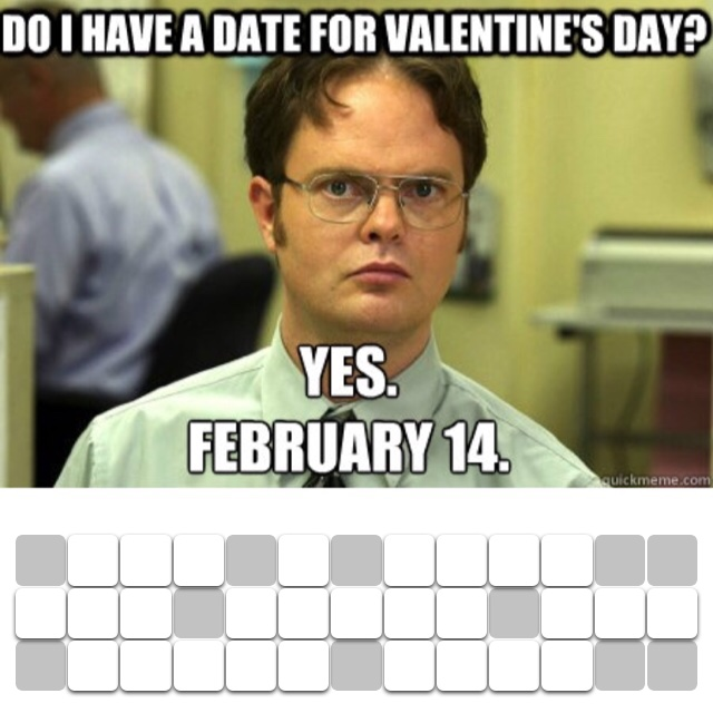 And a date for every day after that