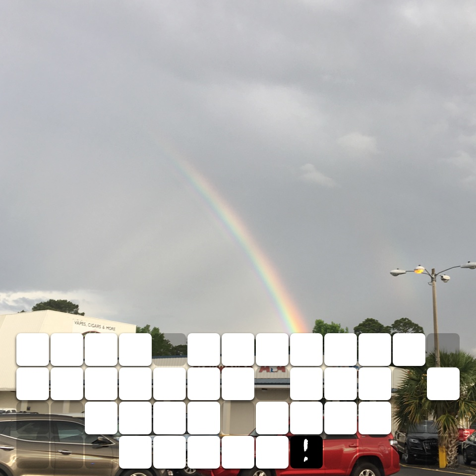 Best partial rainbow pic I have ever taken!