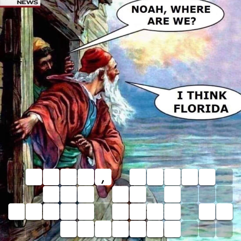 Noah, where are we I think this is Florida