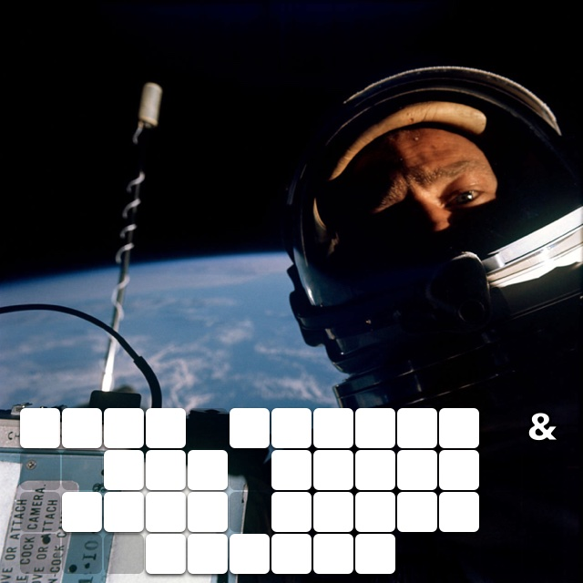 Buzz aldrin & the first ever space selfie