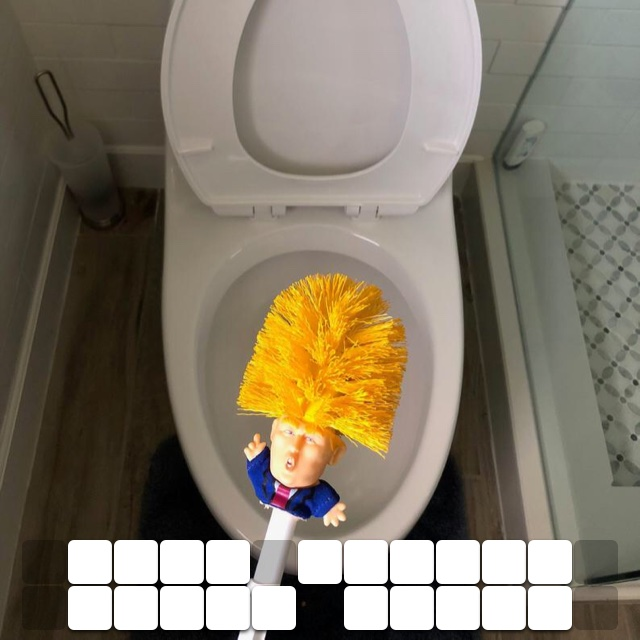 Make toilet clean again