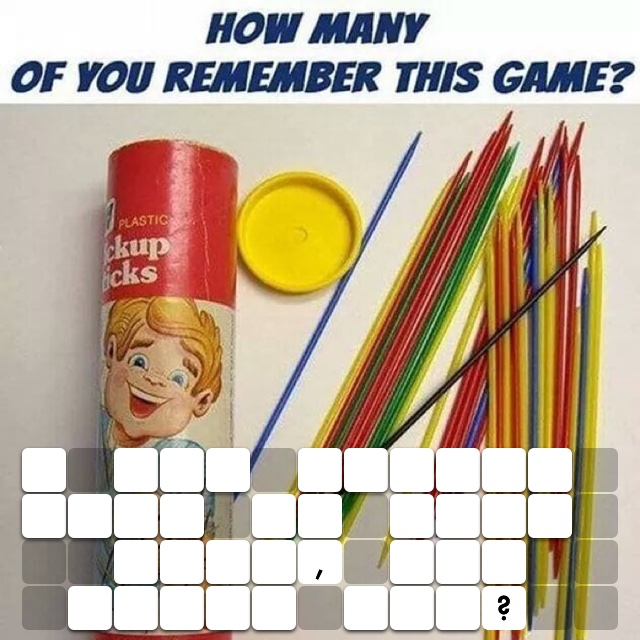 I was pretty good at this game, how about you?