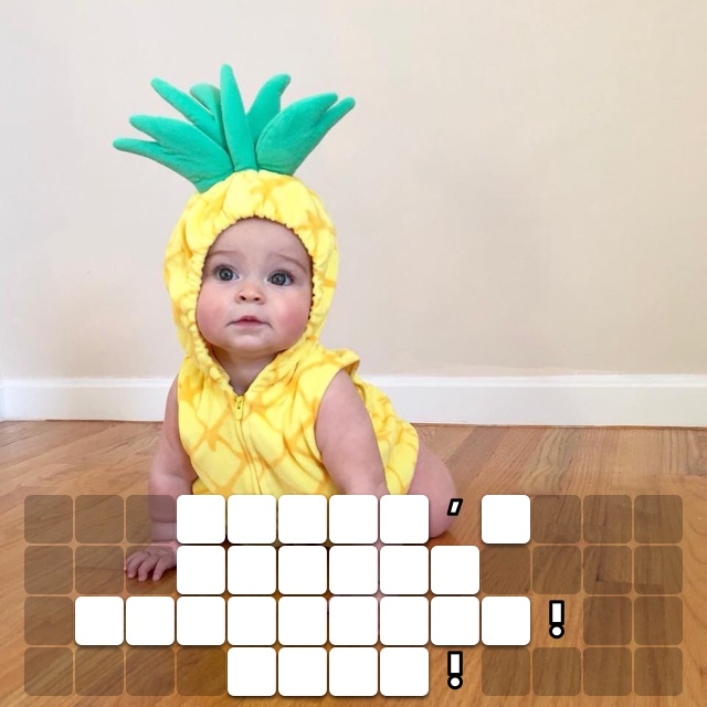 World's cutest pineapple! Ever!