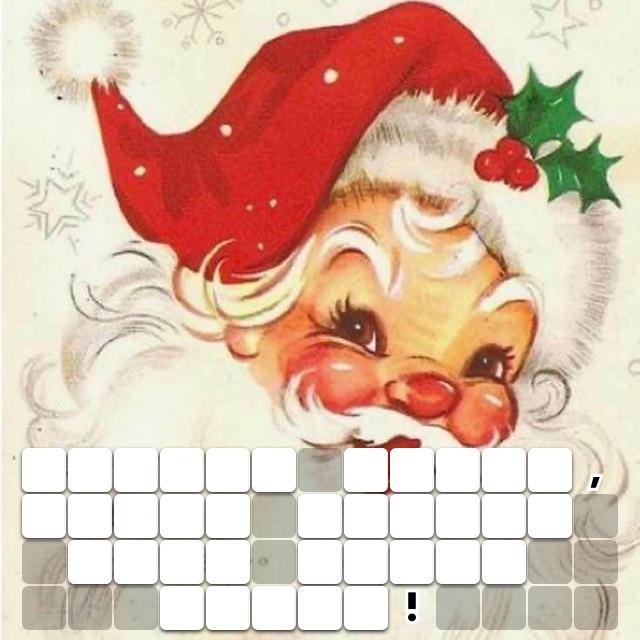 Jingle bells, Santa smells like Candy canes!