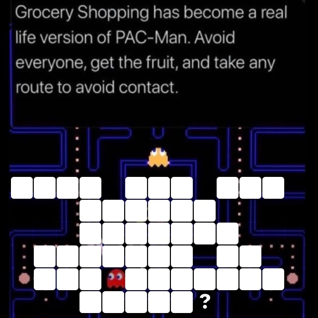 What are you having trouble finding in the grocery store?