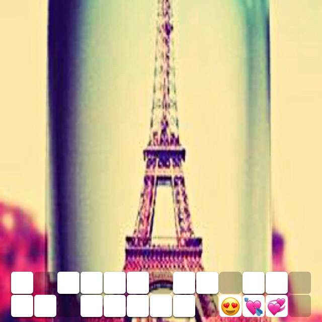 I want to go to Paris 😍💘💞