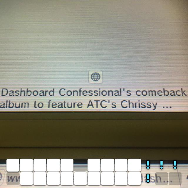 Their back!!! Dashboard!