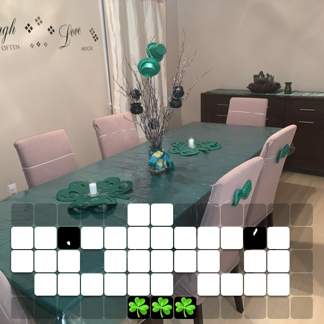 My St.Patrick's Day Decor in Dining Room ☘️☘️☘️