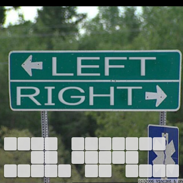 When nothing is going right go left