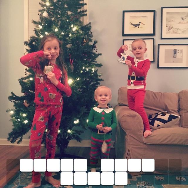 Three cute elves