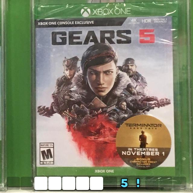 Gears 5!